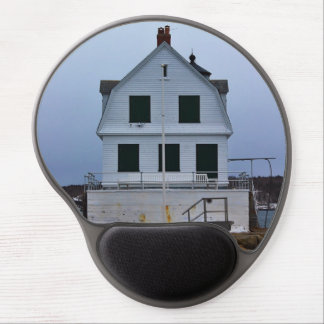 The Rockland Breakwater Lighthouse III Gel Mouse Pad