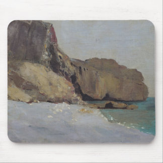 The Rocks at Vallieres, near Royan Mouse Pad