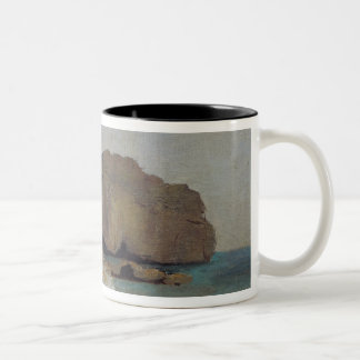 The Rocks at Vallieres, near Royan Two-Tone Coffee Mug