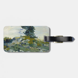 The Rocks by Vincent Van Gogh Travel Bag Tag
