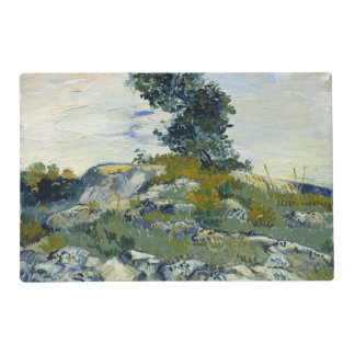 The Rocks by Vincent Van Gogh Placemat
