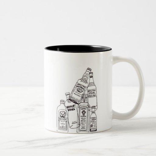 The rocks Two-Tone coffee mug
