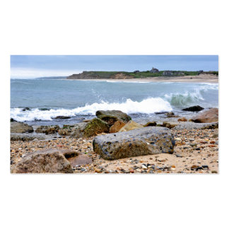 The Rocky Beaches of Montauk, Long Island, NY Business Card Templates