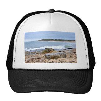 The Rocky Beaches of Montauk, Long Island, NY Trucker Hat