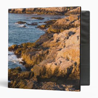 The rocky coast of Isle au Haut in Maine's 3 Ring Binder