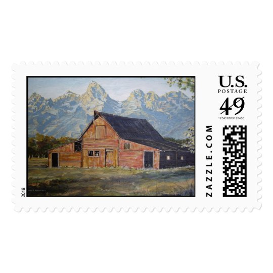 The Rocky Mountain Barn- stamps