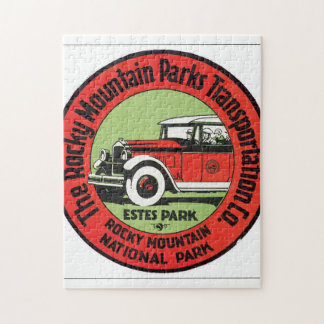 The Rocky Mountain Transportation Co. Jigsaw Puzzle