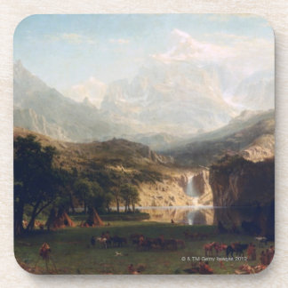 The Rocky Mountains Beverage Coaster