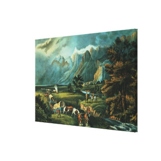 The Rocky Mountains Canvas Print