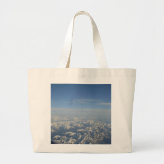 The Rocky Mountains from Above Large Tote Bag