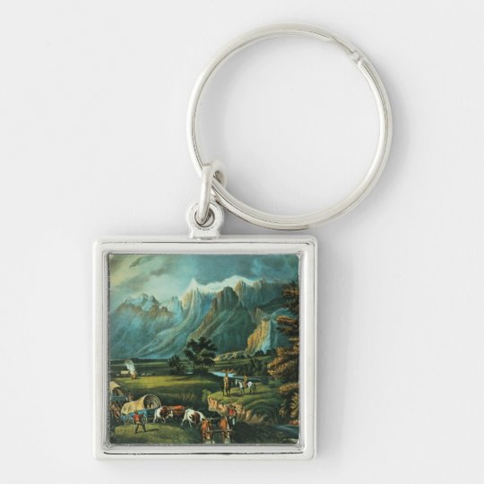 The Rocky Mountains Keychain