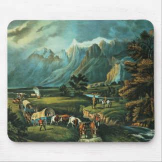 The Rocky Mountains Mouse Pad