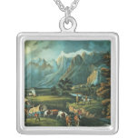 fine art, currier, 1866, family, horse, native,