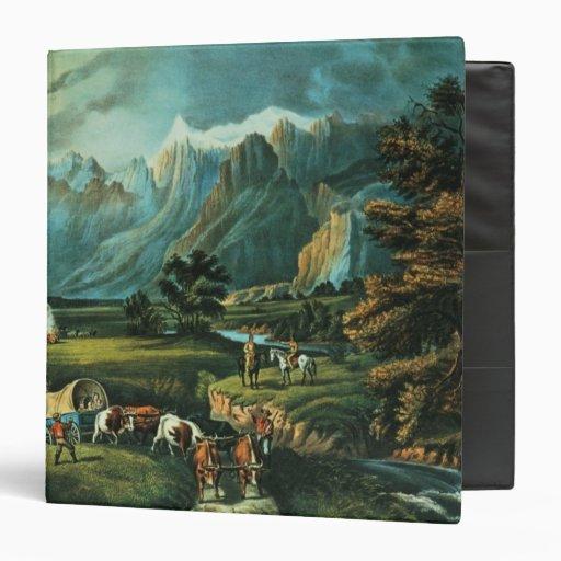 The Rocky Mountains Vinyl Binders