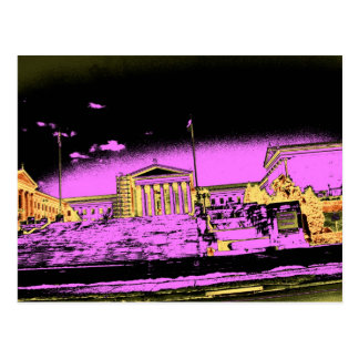 The Rocky Steps Postcard