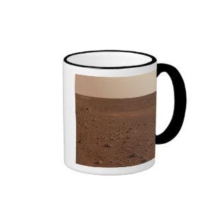 The rocky surface of Mars Mug