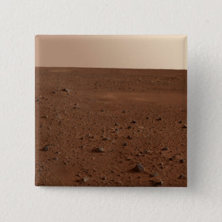 The rocky surface of Mars Pinback Button