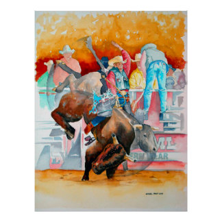 The Rodeo Buck Poster