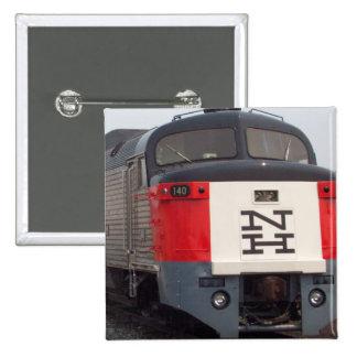 The Roger Williams Train Set 2 Inch Square Button