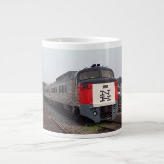The Roger Williams Train Set Jumbo Mug