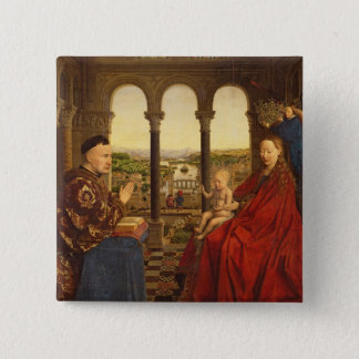 The Rolin Madonna , c.1435 Button