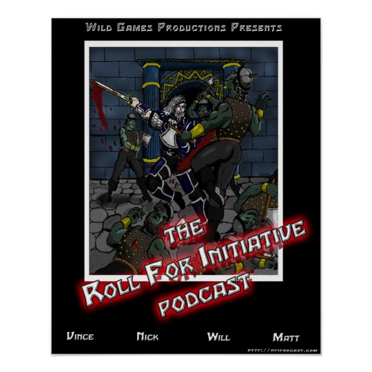 The Roll for Initiative Poster