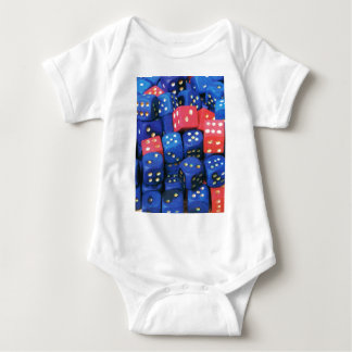 The roll of a dice baby bodysuit