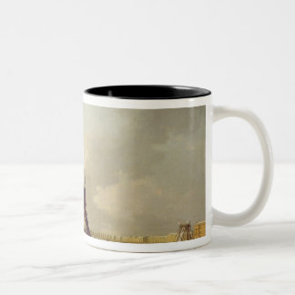 The rollercoasters on the Neva in St. Two-Tone Coffee Mug