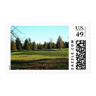 The Rolling Hills In Stratford Postage