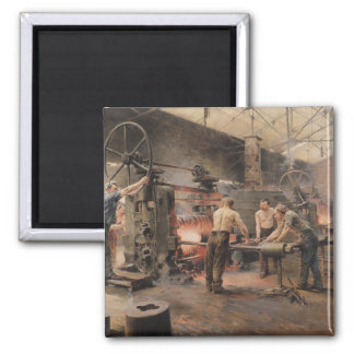 The Rolling Mill 2 Inch Square Magnet