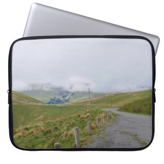 The rolling Port Hills, Christchurch Laptop Sleeve