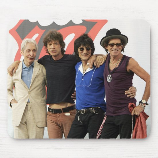 The Rolling Stones Announce Tour | New York Mouse Pad