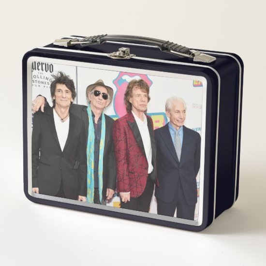 The Rolling Stones Exhibitionism Opening Night Metal Lunch Box