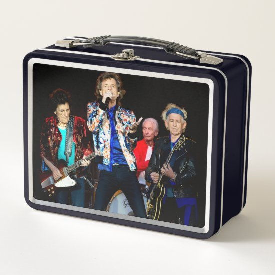 The Rolling Stones | Manchester, England Metal Lunch Box