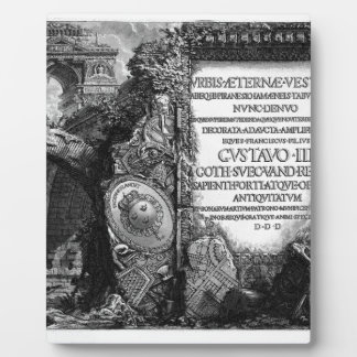 The Roman antiquities, t. 1, Plate I. by Giovanni Display Plaque