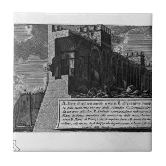 The Roman antiquities, t. 1, Plate VIII. Aurelian Tile
