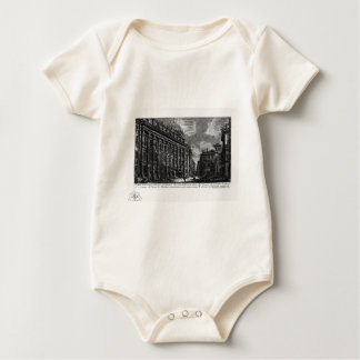 The Roman antiquities, t. 1, Plate XIII by Giovann Baby Bodysuit