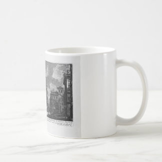 The Roman antiquities, t. 1, Plate XIII by Giovann Classic White Coffee Mug