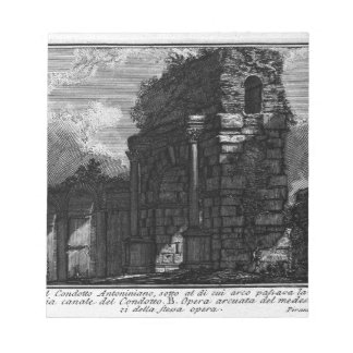 The Roman antiquities, t. 1, Plate XIX by Giovanni Notepad