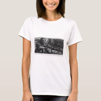 The Roman antiquities, t. 1, Plate XVI by Giovanni T-Shirt