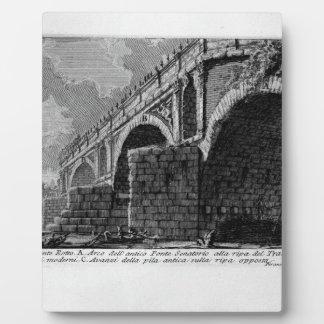 The Roman antiquities, t. 1, Plate XX. Ponte Rotto Photo Plaque