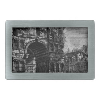 The Roman antiquities, t. 1, Plate XXI. Arch of... Belt Buckle