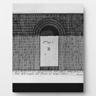 The Roman antiquities, t. 1, Plate XXII. Cloaca Display Plaque