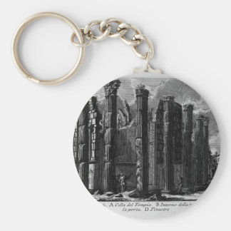 The Roman antiquities, t. 1, Plate XXII. Temple... Keychain