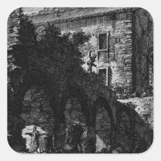 The Roman antiquities, t. 1, Plate XXIII. Square Sticker