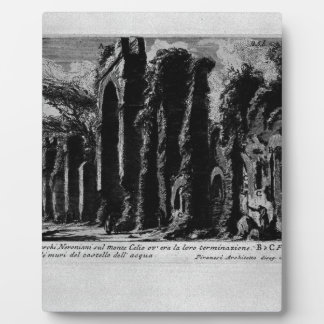 The Roman antiquities, t. 1, Plate XXIV. Nero`s Photo Plaque