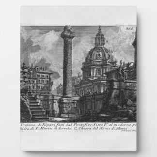 The Roman antiquities, t. 1, Plate XXIX. Trajan`s Display Plaques