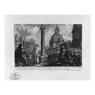 The Roman antiquities, t. 1, Plate XXIX. Trajan`s Postcard
