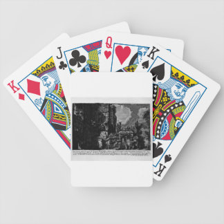 The Roman antiquities, t. 1, Plate XXV. Nero`s aqu Bicycle Playing Cards