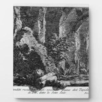 The Roman antiquities, t. 1, Plate XXVII. Photo Plaque
